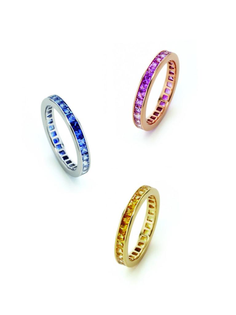 ジュネ,TOWAMOUR,トワエムール,サファイア,エタニティリング,絆,プレゼント,メッセージ,婚約指輪,結婚指輪